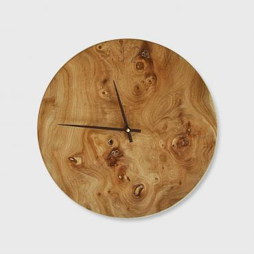 Horloge Veinage en orme