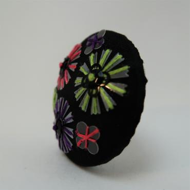 Magnetic brooch Roues Multicolores RVV