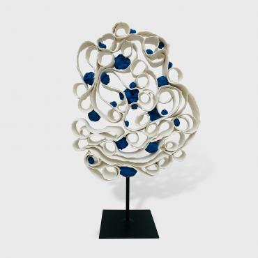 Sculpture Arbre porcelaine