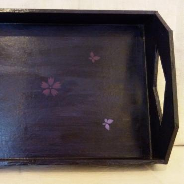 Navy Blue Tray