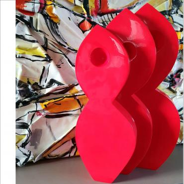 Sculpture INFINI ROUGE 4/8
