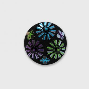 Magnetic brooch Roues Multicolores BVV