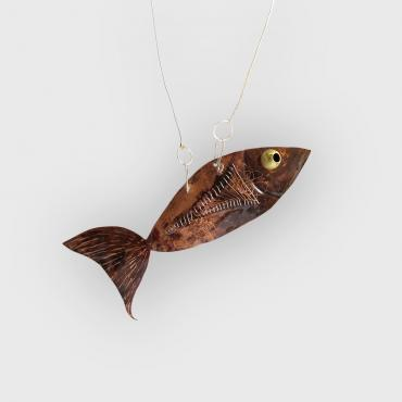 Necklace Je m'en Fish