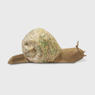 Sculpture papier Escargot