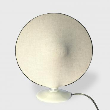 Lampe de table MELIES en lin naturel