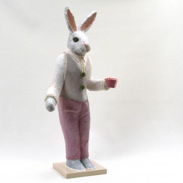 Sculpture Lapin chic