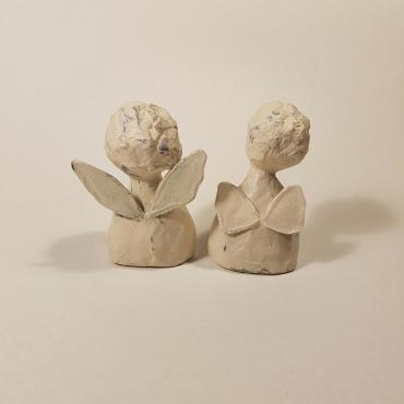 Paper Sculptures Couple d'ange