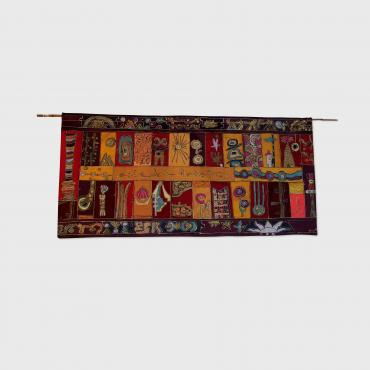 Wall hanging Les pays chauds