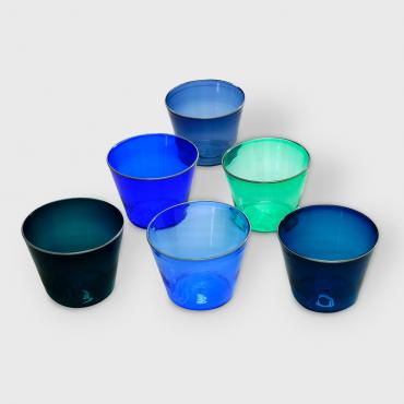 Set of 6 drinking glasses La Cale
