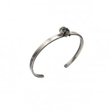 Bangle silver tête de mort