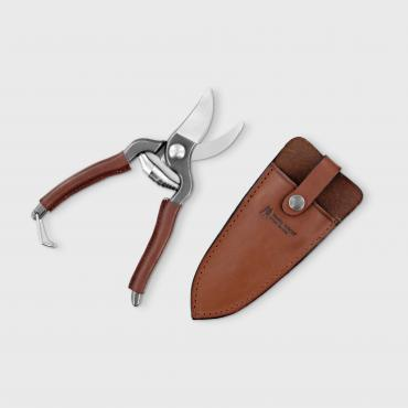 Secateurs Small leather handle and leather case