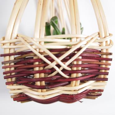 Mini hanging basket zarzo