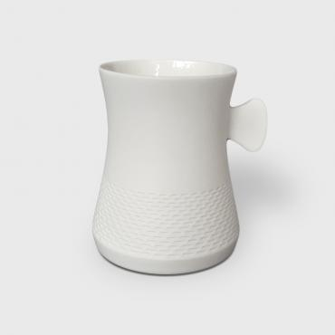 Mug in porcelain