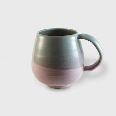 Mug GM céladon-rose