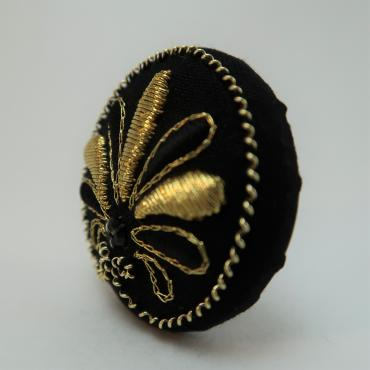 Broche aimantée Palme Or