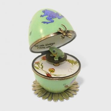 Music box grenouille verte