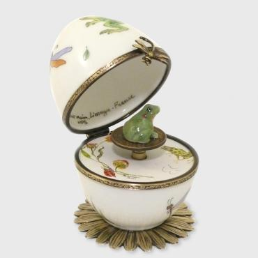 Music box grenouille blanche