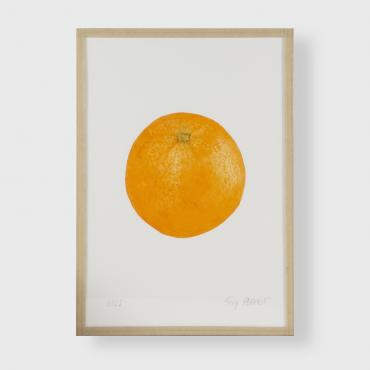 Engraving Orange