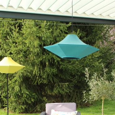 Outdoor grand Plafonnier Bleu