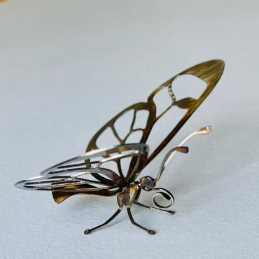 Sculpture Papillon Cristal Wings