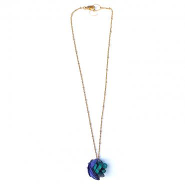 Necklace Cambria bleu