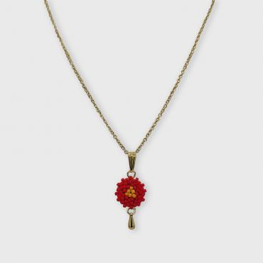 Necklace Lilou corail