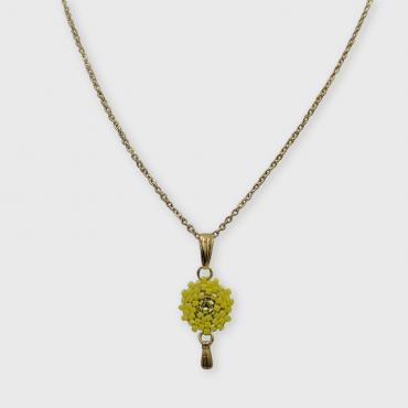 Necklace Lilou jaune