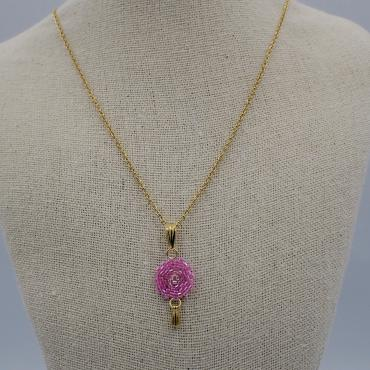 Necklace Lilou rose
