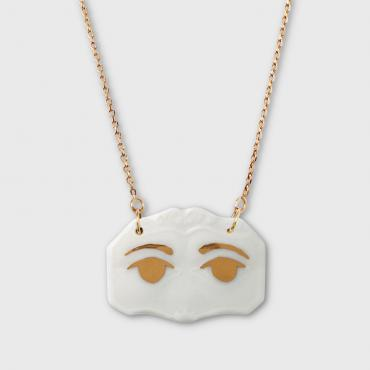 Pendentif «Yeux» Or