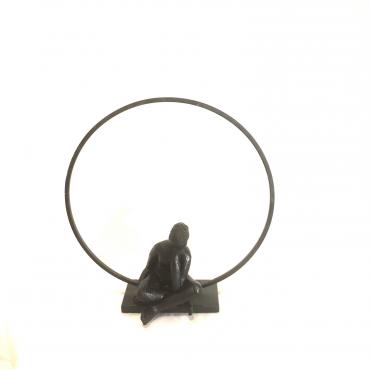 Meditative women small sculpture