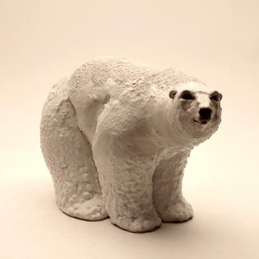 Sculpture POLAR BEAR