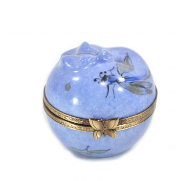 Music box blue apple