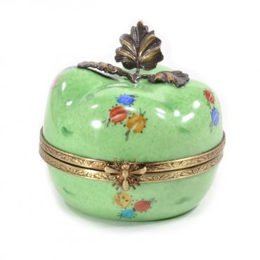 Music box green apple