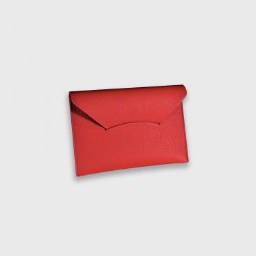 Red passport holder