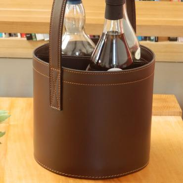Bottle holder MIDI-BAR Quatro Chocolate