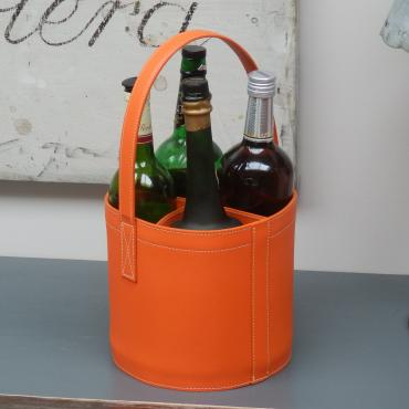 Porte bouteilles MIDI-BAR Quatro Orange