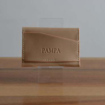 Card holder in leather