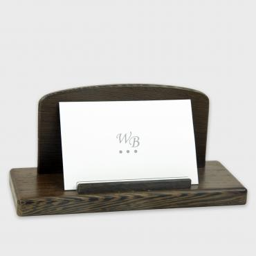 Business-card holder vertical wengué