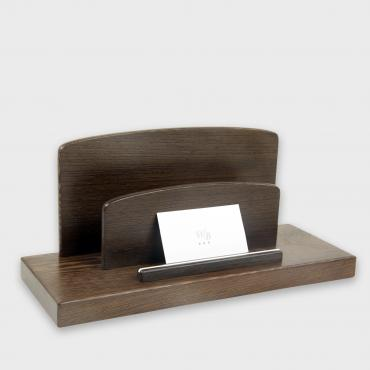Wengué letter holder