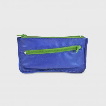 Purse with double zipper 2