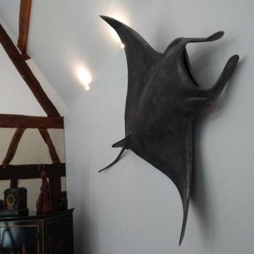 Sculpture Manta Ray