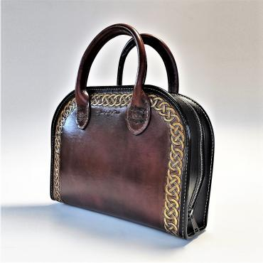 Handbag modern celtic inspiration