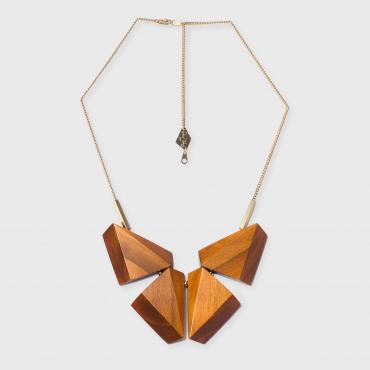 Necklace Vernon orange
