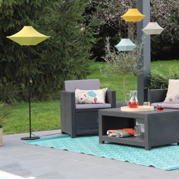 Lot de 3 abat-jours Outdoor