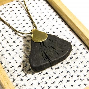 Long necklace HIME-DAIMARU-GINKO 2
