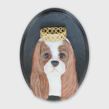 Sculpture chien Monsieur King