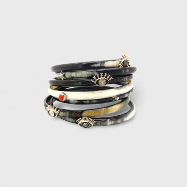 Seven-band bracelet EYE OF ROCK (7 bracelets)