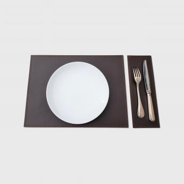 Set de table en cuir DUO