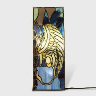 Stained-glass window Sphinx
