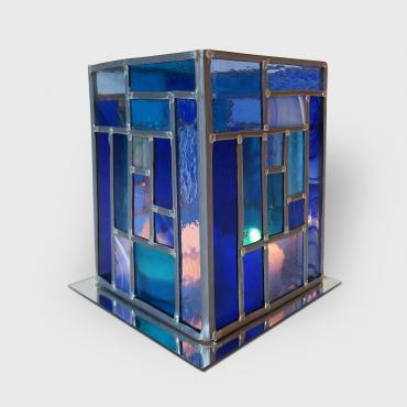 Candle holder style Mondriaan tall